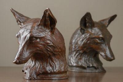 Rikki Morley Saunders, 'Fox Bookends', 2012
