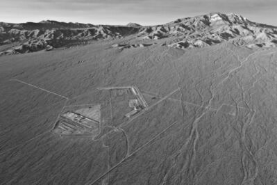 Jamey Stillings, 'Initial Excavation for Future Substation, Operations Center and Construction Block with Clark Mountain in the Background, 2011, from Changing Perspectives: The Evolution of Ivanpah Solar', 2011