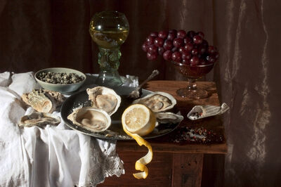 Paulette Tavormina, 'Oysters and Lemon, after W.C.H.', 2008