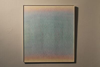 Ivan Contreras Brunet, 'Vertical vert irisé', 1984