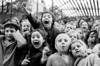 Alfred Eisenstaedt, 'Children at a Puppet Theater, Paris', 1931