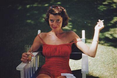 Slim Aarons, 'Rita Aarons', 1955