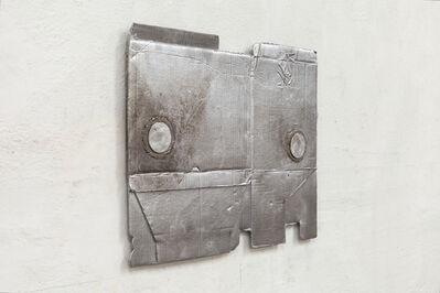 Jürgen Drescher, 'Folded cardboard with runners up front', 2012