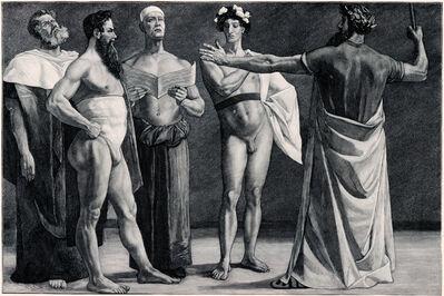 Sascha Schneider, 'Der Männergesang', 1894-1895