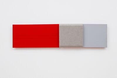 Jennie C. Jones, 'Red Measure, Muted Gray', 2017