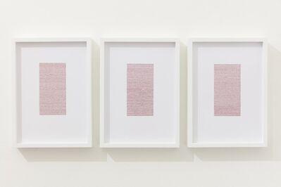 Nicène Kossentini, 'Infinitesimal (rouge)', 2015