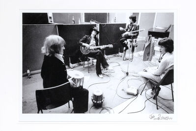 John Reader, 'Rolling Stones Take A Break From Recording - She'S A Rainbow For Their Album Satanic Majesties At The Olympic Studios, Barnes, London', May 1967