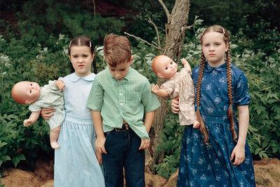 Sheron Rupp, 'Mennonite Children, Wolcott, Vermont', 1990