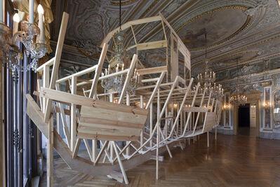 Héctor Zamora, 'BAM – Construction of the Century!', 2010