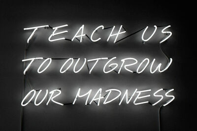 Alfredo Jaar, 'Teach Us to Outgrow Our Madness', 1995