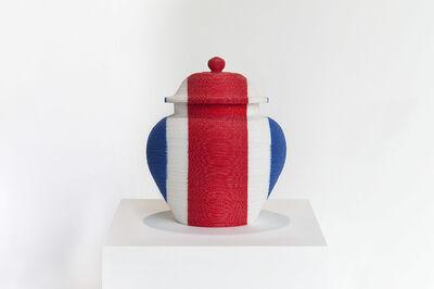 anothermountainman (Stanley Wong), 'back to the future / redwhiteblue vase 9', 2006
