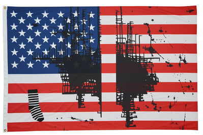 Josephine Meckseper, 'Untitled (Flag 2), 2017', 2017