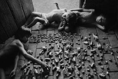 Sebastião Salgado, 'Children playing with animals bones, Brazil', 1983
