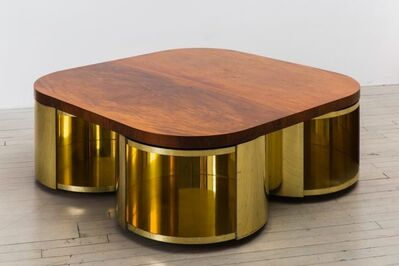 Paul Evans, 'Four Cylinder Low Table', 1980