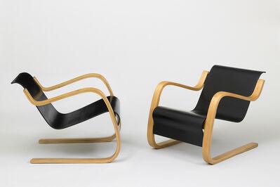 Alvar Aalto, 'Pair of armchairs', 1930