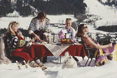Slim Aarons, 'Luxury in the Snow', 1961