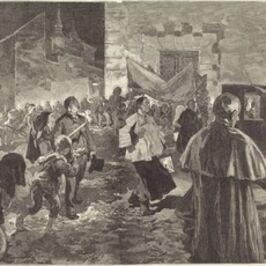 Daniel Vierge, 'Espagne.  La Viatique', 1889
