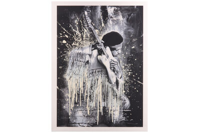 Mr. Brainwash, 'Jimi Hendrix', 2015