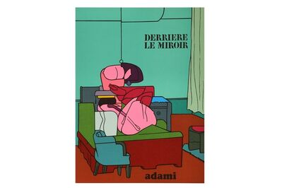 Valerio Adami, 'Derrière Le Miroir', 1970