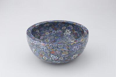 Yuki Hayama, 'Bowl with 'Ten Thousand Flowers' Motif', 2016