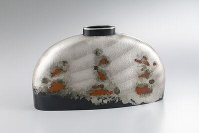 """Oshiyama Motoko, 'Kakuhanmon Vase """"Shunpu"""" (Spring Wind)', 2018"""