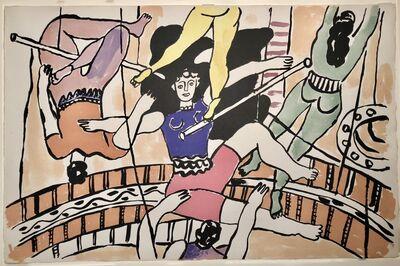 Fernand Léger, 'Circus - Trapeze Artists', 1950