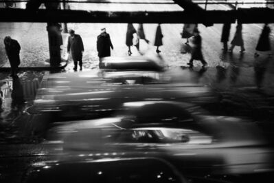 Werner Bischof, 'Rushing cars, New York, USA, 1953', 1953