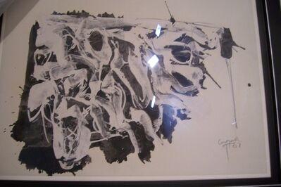 Rafael Canogar, 's/t', 1962