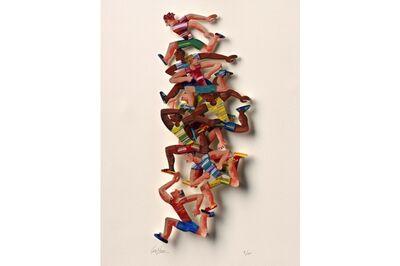 David Gerstein, 'Photo Finish - Paper Cut', 2007