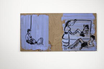 Ilona Szalay, 'Blue 2', 2016