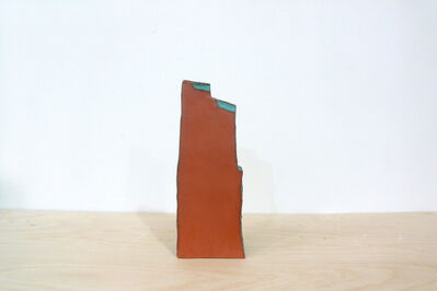 Keiko Narahashi, 'Untitled (Brown with Blue Steps)', 2015