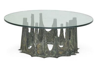 Paul Evans, 'Sculptured Metal coffee table, New Hope, PA', 1970