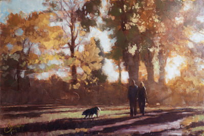 Christopher Clark, 'Autumn Stroll', 2017