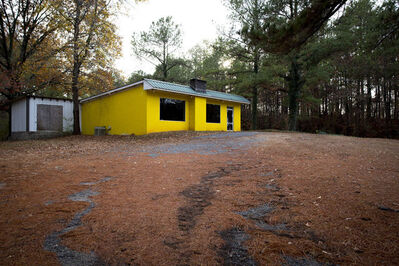 Forest McMullin, 'Late Harvest: Yellow Building, Rockford, Alabama', 2016-printed 2018