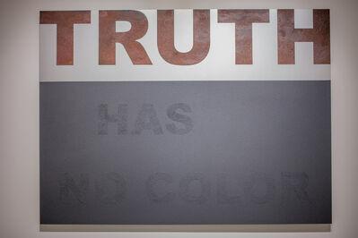 Marcos Ramírez ERRE, 'Truth has no color', 2017