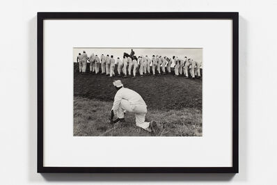 Danny Lyon, 'Hoe Sharpener and The Line, Ferguson', 1967