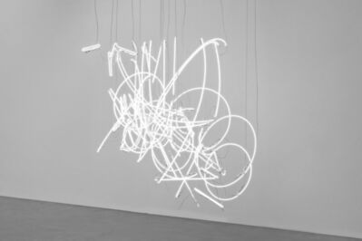 Cerith Wyn  Evans, 'Neon Forms (after Noh X)', 2018