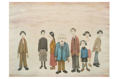 Laurence Stephen Lowry, 'His Family'