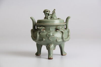 Unknown Artist, 'Celadon incense burner', ca. ca. 14th century