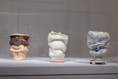 Kathy Butterly, 'Installation shot (l to r): Just for Men, Ckhaartrylyie, Rabbit Hole', 2009-2011