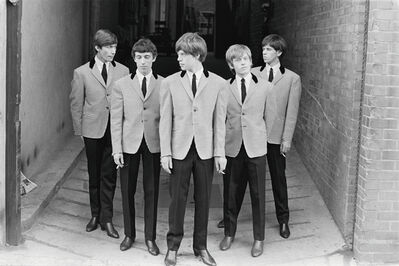 Phillip Townsend, 'The rolling stones - black and white photography', 1963