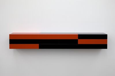 Liam Gillick, 'Resistant Wall Unit (Red, Black)', 2012