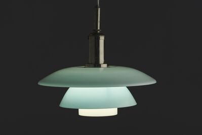 Poul Henningsen, 'Rare Ceiling Light with Daylight PH 4 shades', ca. 1930
