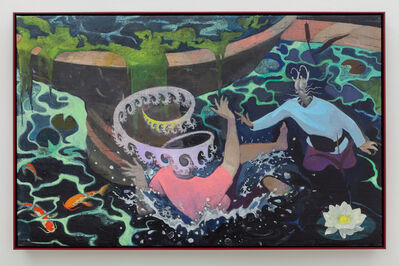 Mihut Boscu Kafchin, 'Quarrel at the Fountain of Youth', 2016