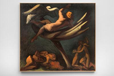 Lorser Feitelson, 'Leda', 1943