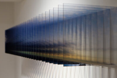 Nobuhiro Nakanishi, 'Layer Drawing, Light of the Sunrise 2', 2012