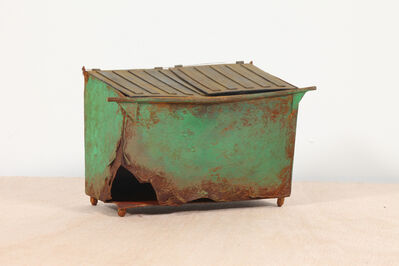 Drew Leshko, 'Rusted Green Dumpster #2', 2019