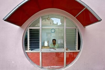 Jeffrey Milstein, 'Movie Ticket Booth, Camaguey Havana', 2005