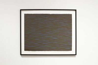 Sol LeWitt, 'Horizontal Brushstrokes (More or Less)', 2003