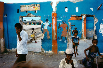 Alex Webb, 'Port-au-Prince, Haiti', 1986